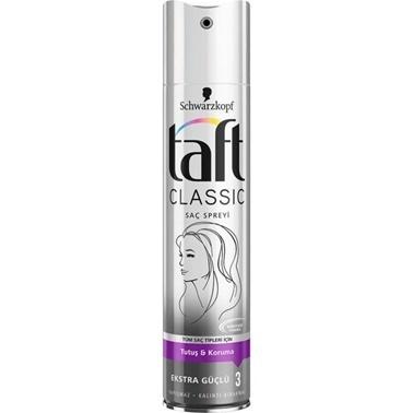 TAFT Classic Saç Spreyi 250ml Renksiz